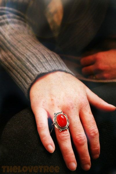 Carnelian Ring for success, inspiration and moving forward. ♥