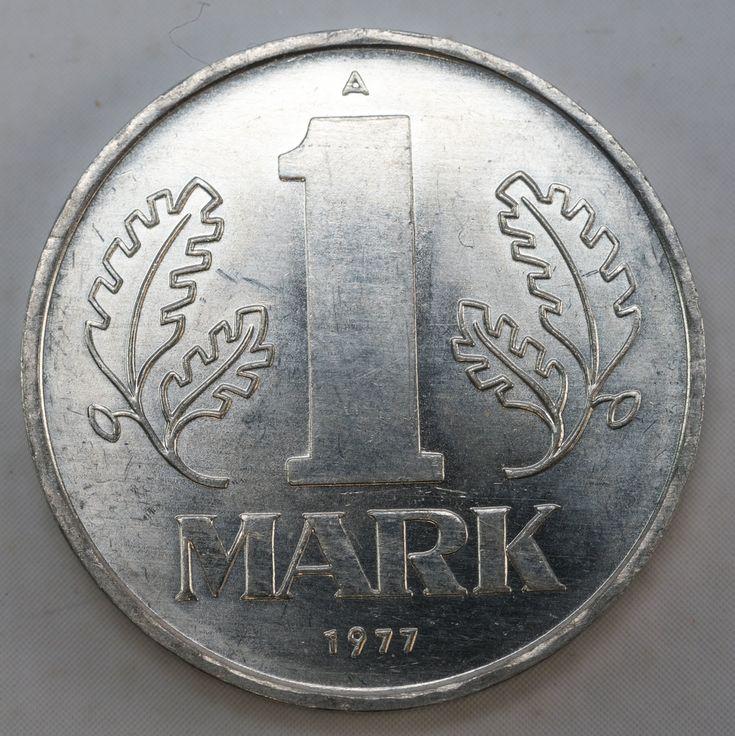 """3.DDR Museum – Museum: Objektdatenbank – """"1 Mark"""" Copyright: DDR Museum, Berlin. Eine kommerzielle Nutzung des Bildes ist nicht erlaubt, but feel free to repin it! – DDR Museum"""