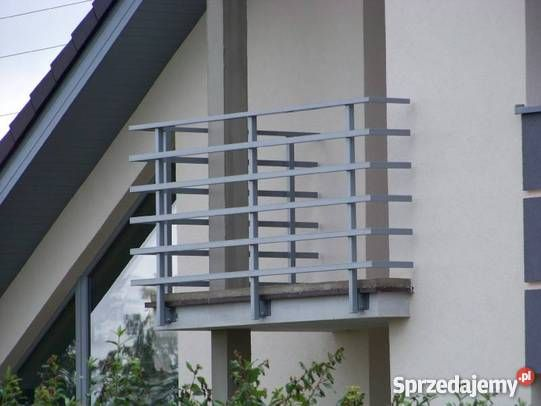 Balustrady nowoczesne KUTE balustrada barierka Siedlce