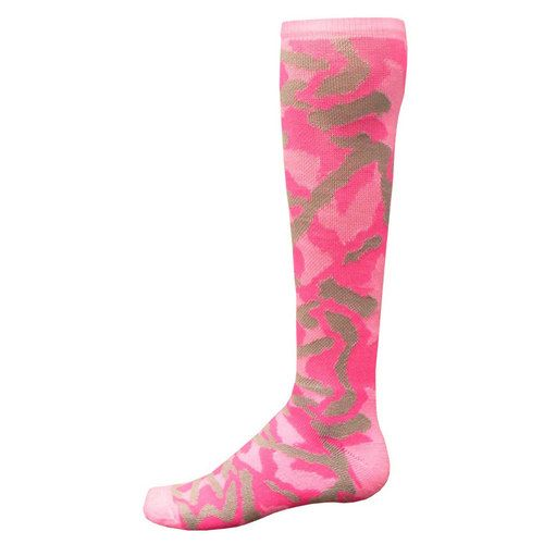 Pink Camouflage All Sport Socks