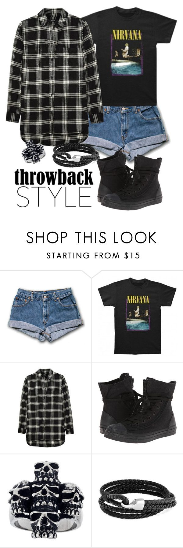 """""""Hey, wait!"""" by vhleal ❤ liked on Polyvore featuring Madewell, Converse, Mia Sarine and Bling Jewelry"""