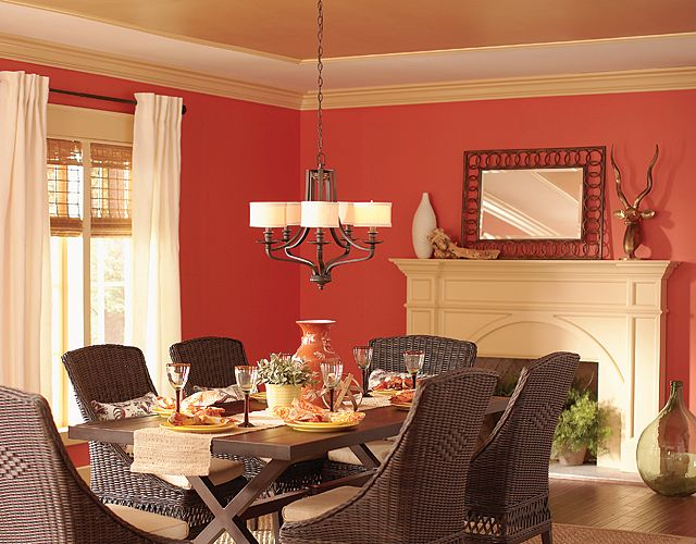 Best 25+ Red Dining Rooms Ideas On Pinterest