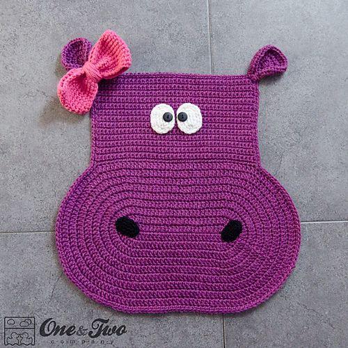 Ravelry: Hippo Rug pattern by Carolina Guzman