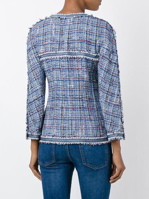 Chanel Vintage твидовый пиджак