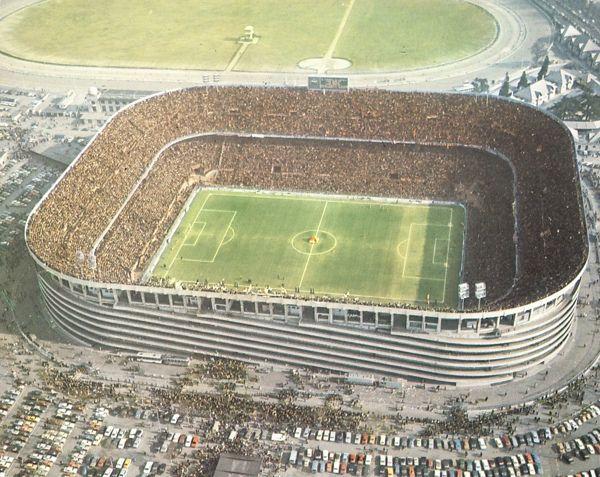 Stadio di San Siro in 1970/80, Milan
