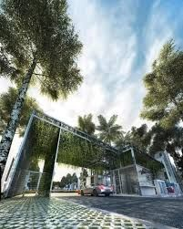 Resultado de imagen para entrance guardhouse condominium
