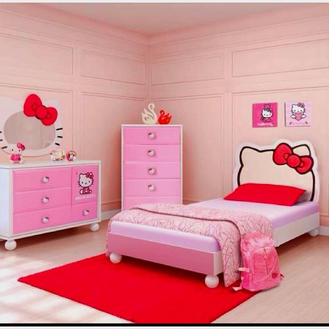 25 Best Ideas About Hello Kitty Bedroom Set On Pinterest