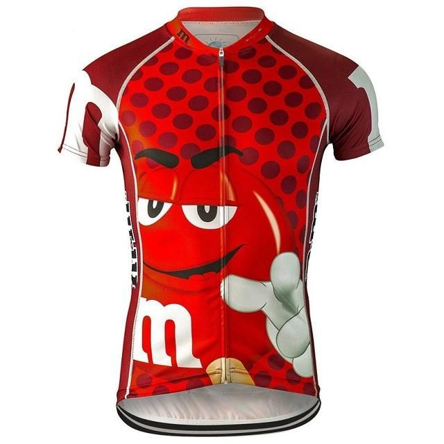 be823963f Cartoon funny Cycling jersey ropa ciclismo Men Short sleeve Cycling clothing  maillot outdoor bike wear jersey MTB
