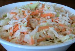 Cole Slaw Recipe - Kosher Parve Salad Recipes - Kosher Barbecue Menu