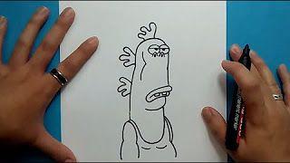 como dibujar al señor gus - YouTube