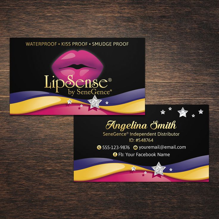 The  Best Lipsense Business Cards Ideas On   Lip