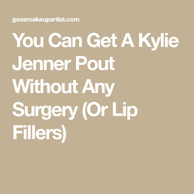 You Can Get A Kylie Jenner Pout Without Any Surgery (Or Lip Fillers)