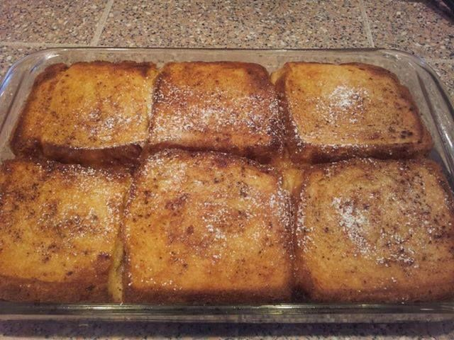 This is an easy weekend breakfast you can make for the family! Everyone loves French Toast and maple syrup!