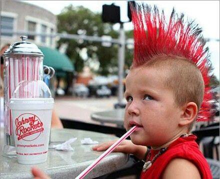 Punk frisur kinder