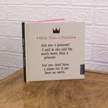 MTNB01 - More Than A Princess Notebook