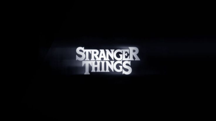 A concept board for the Stranger Things title using Cortez, a font equally at home on pulpy sci-fi and horror books as Benguiat.