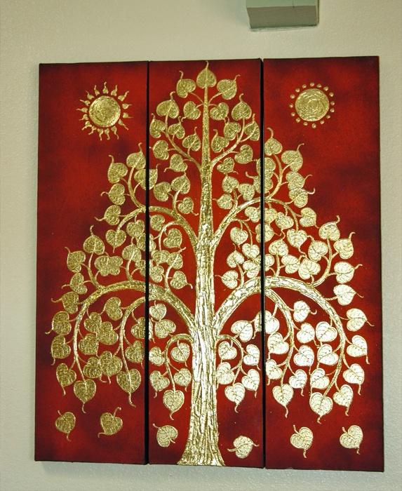 Bodhi tree lacquer