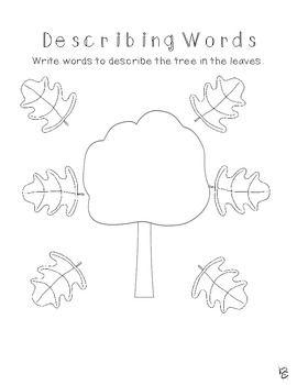 How Trees Grow Kindergarten Treasures Supplemental