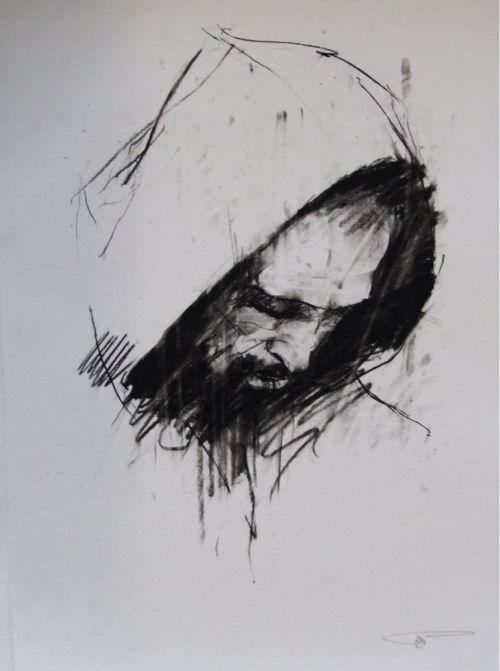 Guy Denning - 'Dante (Paradiso preparatory sketch)'