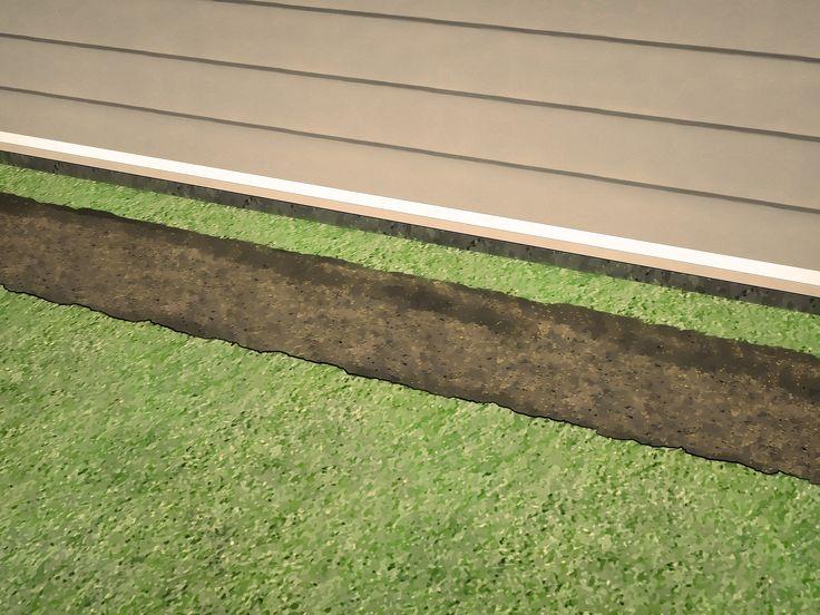 El drenaje francés es una construcción simple, pero versátil que se puede usada para drenar agua estancada de lugares difíciles en tu jardín