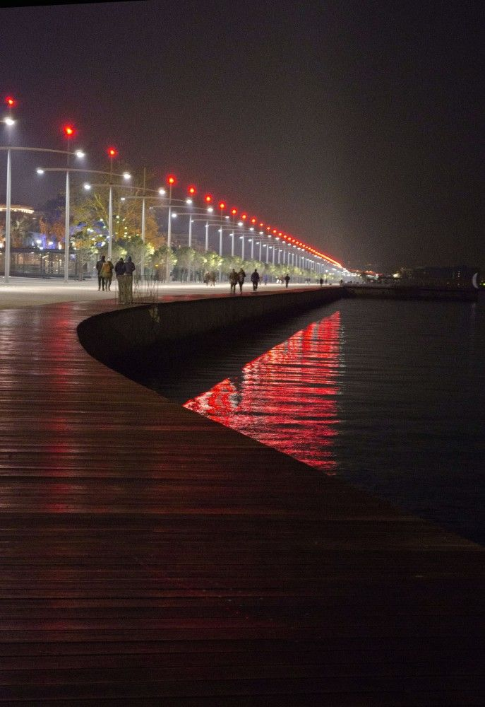 New Waterfront of Thessaloniki by Nikiforidis-Cuomo Architects. Visit the slowottawa.ca boards >> http://www.pinterest.com/slowottawa/