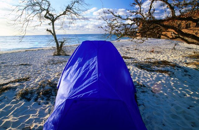 Kickback in the Florida Keys with great camping opportunities.