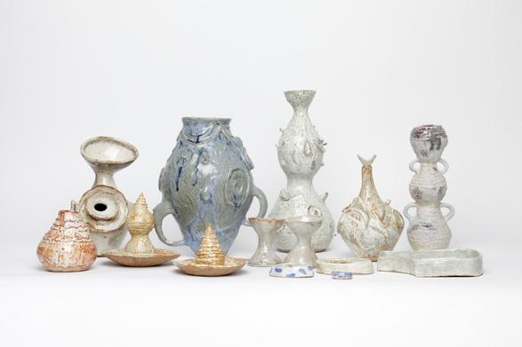 Katy Krantz @totokaelo: Ceramics Enamelware, Contemporary Ceramics, Katy Krantz, Krantz Totokaelo, Design Art, Katy Kranz, Art Object, Ceramics Sculpture, Krantz Pieces