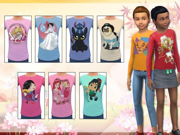 Sims 3 Cartoon Characters : Best images about sims vêtements enfants on pinterest