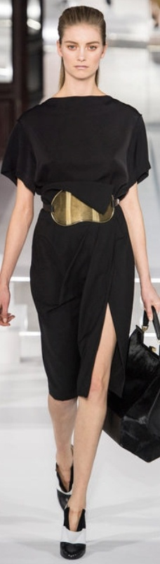 "Fall 2013 Ready-to-Wear Vionnet. ..............My style statement: ""On matters of style, swim with the current, on matters of principle, stand like a rock."" ― Thomas Jefferson"