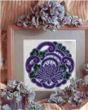 Beautiful Art Nouveau Cross Stitch Pattern