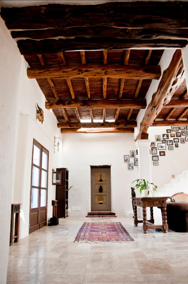 Ibiza villa - How gorgeous would this ceiling look if it was Koa wood? I'm thinking delicious!!!