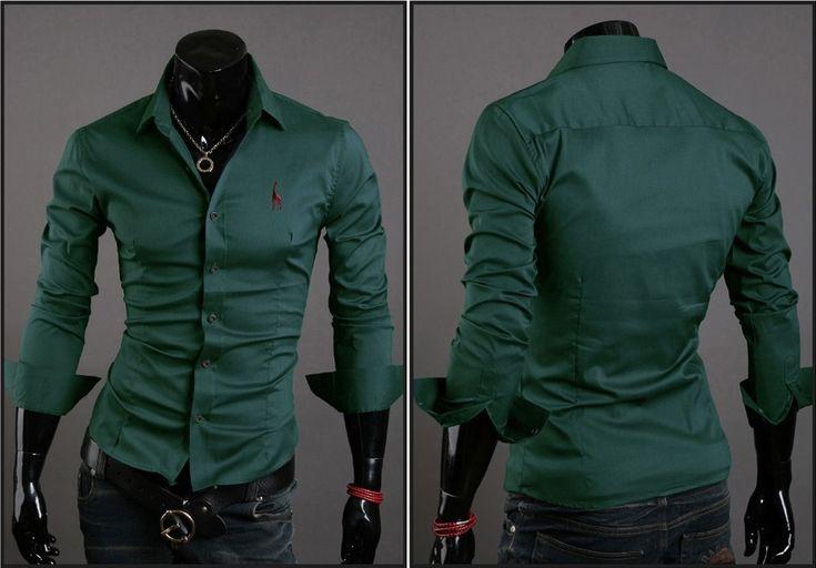 Camisa Casual Clasica Night Style - Verde