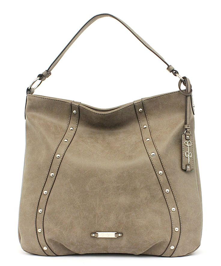 Another great find on #zulily! Jessica Simpson Collection Truffle Distressed Marlowe Faux Suede Hobo by Jessica Simpson Collection #zulilyfinds