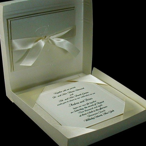 Boxed Couture Wedding Invitations