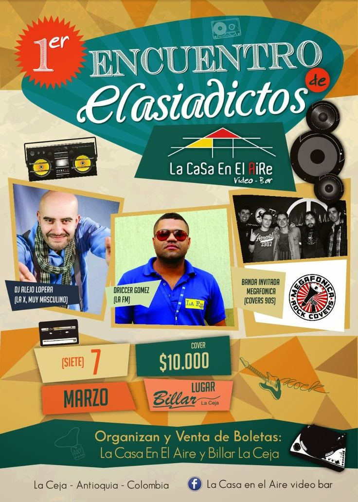 Disco Billar La Ceja: 1ER ENCUENTRO DE CLASIADICTOS DISCO BILLAR LA CEJA...