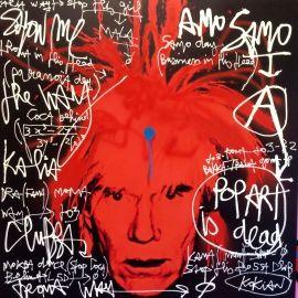 Kokian - Pop Art Is Dead, Hommage à Andy Wharol | Oeuvre d'Art en Vente Artsper