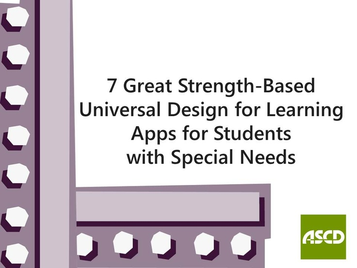 Classroom Design For Special Needs Students : Best universal design learning udl images on