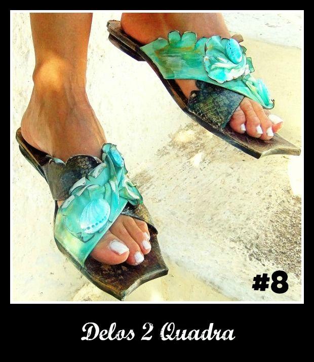 Number 8, Delos 2 Quadra. Click the link for more! http://www.greekinnovativesandals.com/2015/01/delos-2-quadra.html €159.00