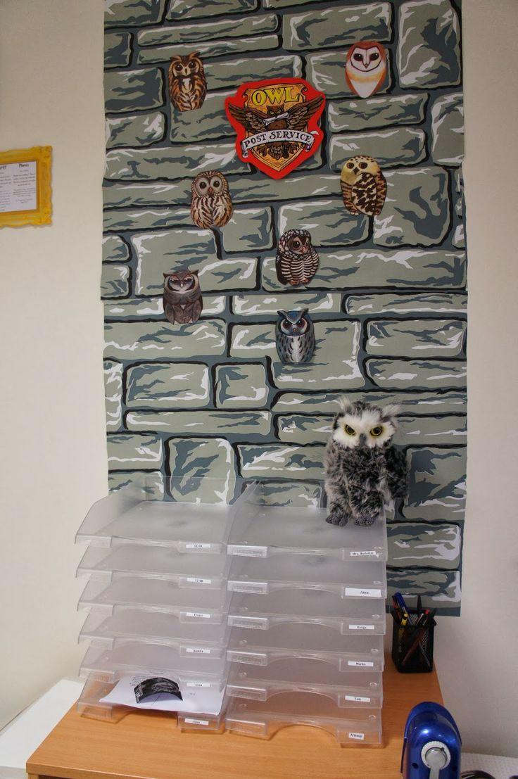 The Charming Classroom Harry Potter Classroom theme Hogwarts Owlery