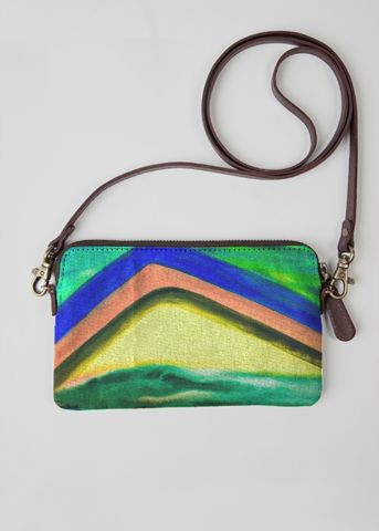 VIDA Statement Clutch - cracked soil by VIDA FVW7l