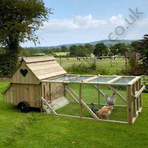 25 best ideas about chicken coop run on pinterest for Portable hen house