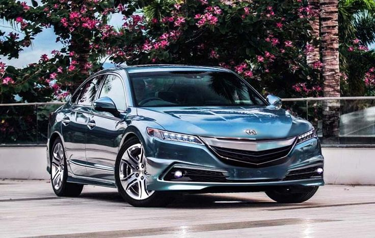 2018 Acura RLX overview