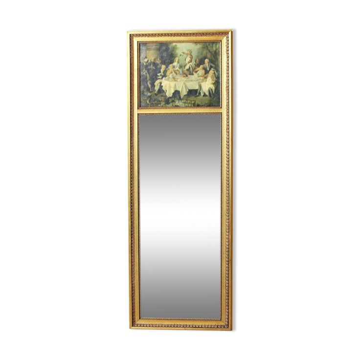 Mirror Louis XVI style 109x38cm   – Products