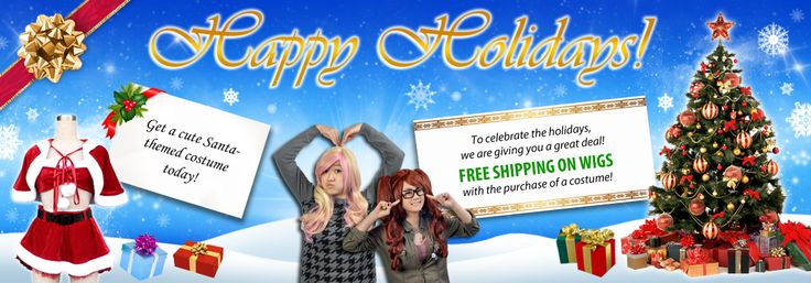 Are you ready for Christmas yet? Come and order your Santa suit today! We'll give you FREE shipping on wigs when you purchase a costume!! Don't miss out! Take advantage of this time!  #christmas #sale #promotions #deals #santa #santaclaus #outfit #cosplay #cosplayhouse #costume #partytime #party #winter #clearance #wig #gift #present #snow #trees