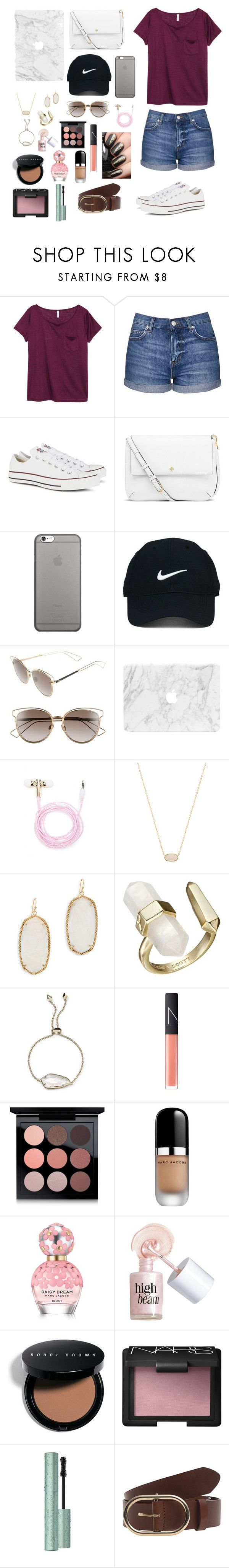 By gabriellaallen on polyvore featuring h m topshop converse tory burch kendra scott