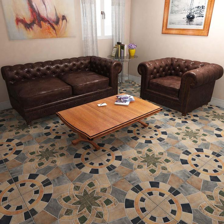 Merola Tile Cartago Azul 17-3/4 in. x 17-3/4 in. Ceramic Floor and Wall Tile (10.76 sq. ft. / case)