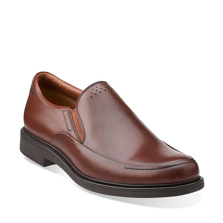 Drexlar Easy in Dark Tan Lea  Mens Shoes from Clarks