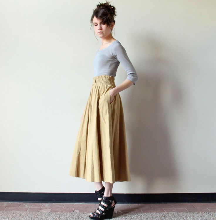 1000  images about styles:midi skirt on Pinterest | Full midi ...