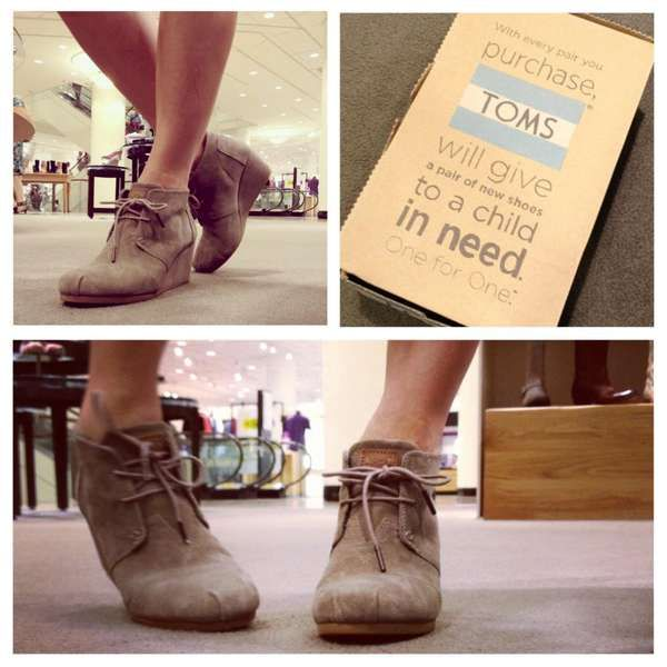 toms desert wedge bootie - love them, bought them!