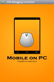 MobileOnPc: Controlling mobile from PC has never been so easy. Introducing ScreenViewer, an app which connects mobile and PC. You can access screen from mobile to PC and PC to mobile. https://play.google.com/store/apps/details?id=com.shikshainfotech.mobileonpc&hl=en